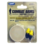 Peltor Combat Arms Earplugs with Carrying Case
