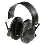 Peltor Tactical 6 Stereo Slim Line Electronic Headset, Gray, Over-the-Head