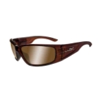 Wiley-X ZAK Sunglasses/Bronze Brown Copper Flash/Liquid Maple
