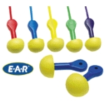 E-A-R Express Pod Plugs Corded-Blue