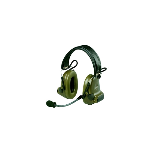 Peltor Dual ComTac II Military Headset with Split Audio - Backband Model