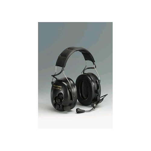 Peltor TacticalPRO Electronic Headset with Boom Microphone, Headband