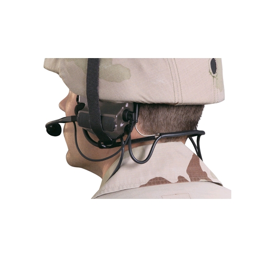Peltor ComTac II A-C-H Headset, SINGLE COMM., PRR Variant, Military Green