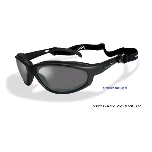 Wiley-X XL-1 Sunglasses/Goggles - Interchangables, Smoke/Clear Lenses