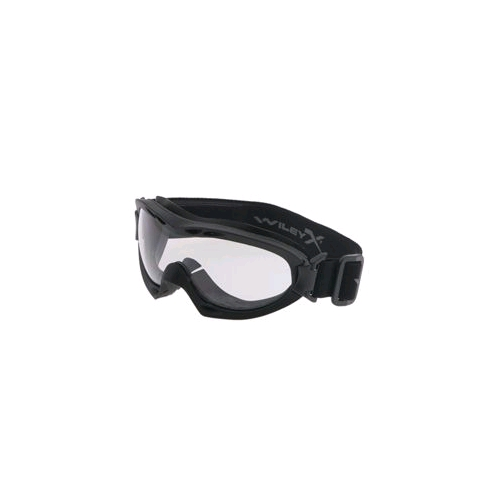 Wiley X Nerve Goggle - Smoke/Clear/Matte Black Frame w/ RX Insert