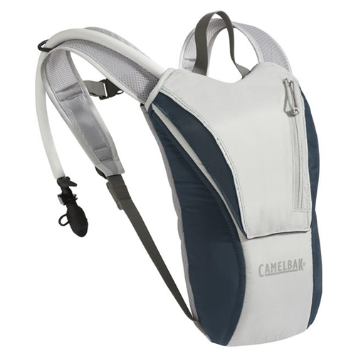 CamelBak WaterMaster 70 oz/2L Hydration Backpack (Grey/Abyss Blue)