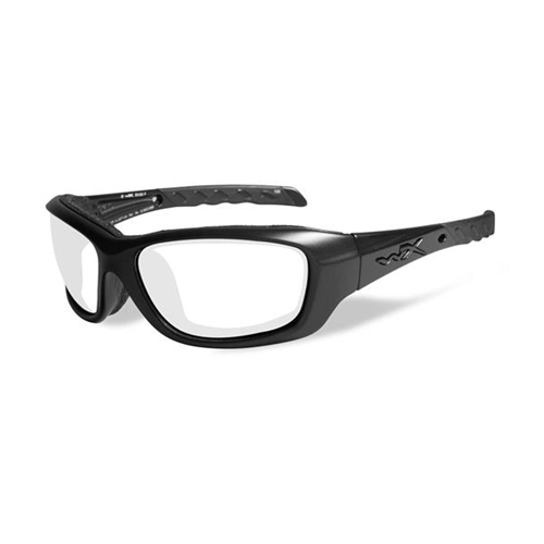Wiley X Gravity Sunglasses | Clear Lens/Matte Black Frame